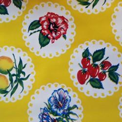 Oilcloth Granadas Yellow