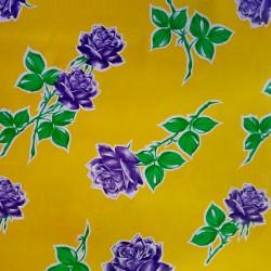 Oilcloth Rosas Yellow