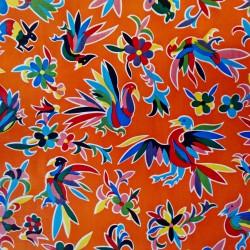 Oilcloth Otomi Orange