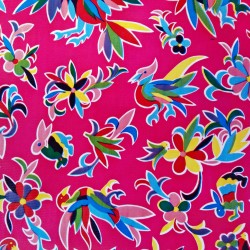 Oilcloth Otomi Pink