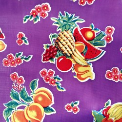 Oilcloth Tropical Purple
