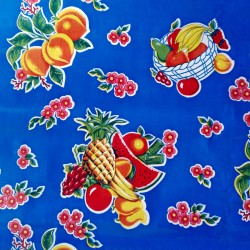 Oilcloth Tropical Blue