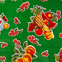 Oilcloth Tropical Green