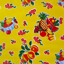Oilcloth Tropical Yellow