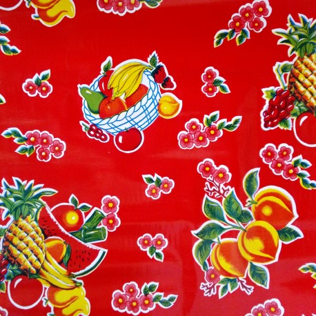 Hule Tropical Rojo