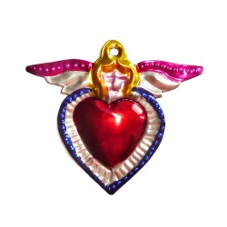 Small sacred heart Angel Blue