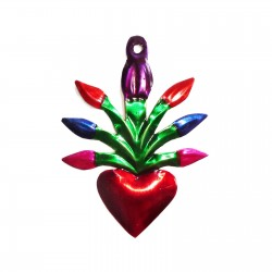 Small sacred heart Arum Colorful