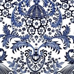 Blue Eden oilcloth