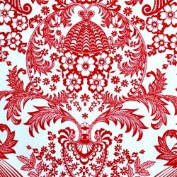Red Eden oilcloth