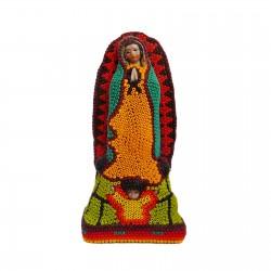 Virgen de Guadalupe Huichol pequeña