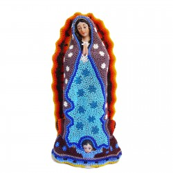 Vierge de Guadalupe Huichol