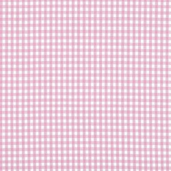 Pink Gingham oilcloth