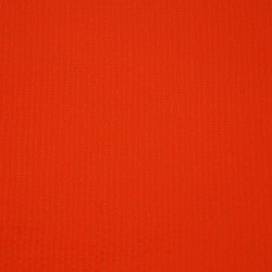 Solid red oilcloth