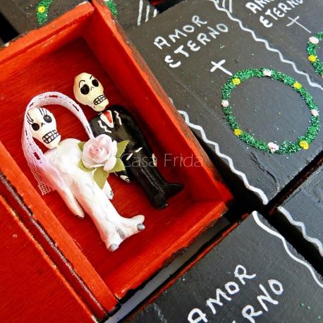 Boîte cercueil Amor Eterno
