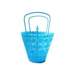 Blue Small retro basket