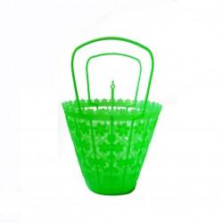 Petit panier rétro Vert