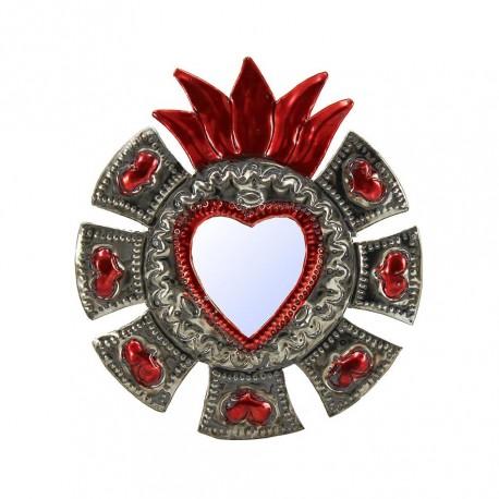 Sagrado corazón con espejo Corazoncitos