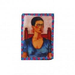 Imán Autorretrato de Frida Kahlo