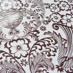 Brown Eden oilcloth