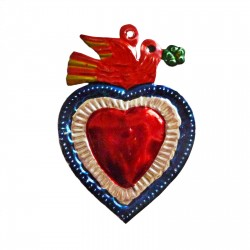 Orange bird Sacred heart