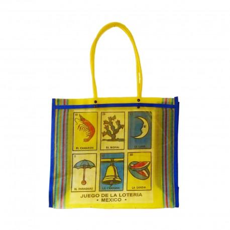 Yellow Loteria market bag