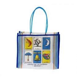 White Loteria market bag