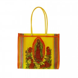 Yellow Guadalupe market bag