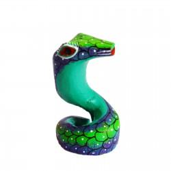 Alebrije Serpiente Verde