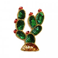 Nopal Sequin patch