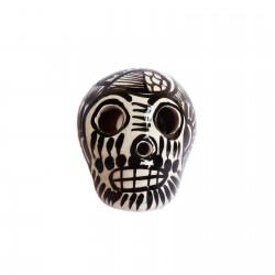 White Sugar skull magnet