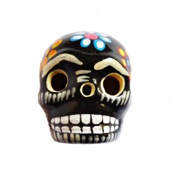 Black Large skull magnet