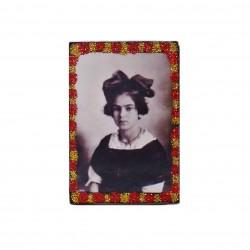 Imán Frida Kahlo niña