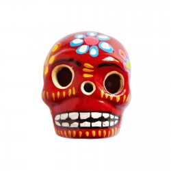 Red Large skull magnet