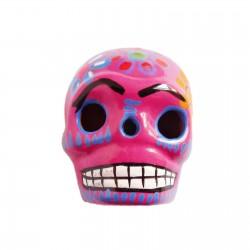 Pink Large skull magnet