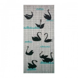 Door curtain Swan