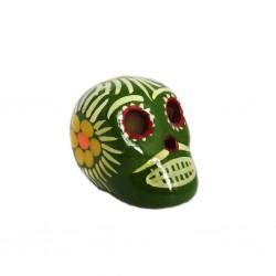 Cráneo mexicano pequeño Caqui
