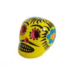 Cráneo mexicano pequeño Girasol
