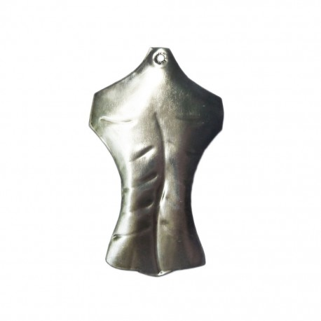 Woman's back Tin milagro