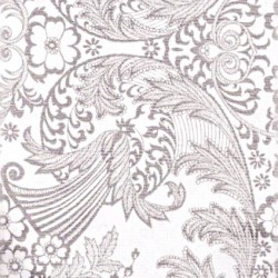 Silver Eden oilcloth