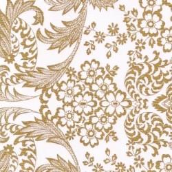 Gold Eden oilcloth