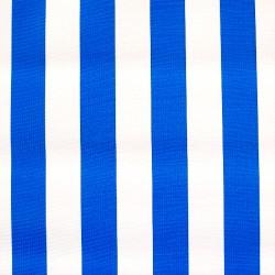 Blue Rayas Oilcloth