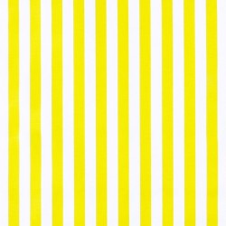 Yellow Rayas Oilcloth