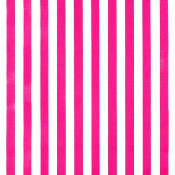 Pink Rayas Oilcloth