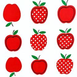 Hule Manzana Rojo