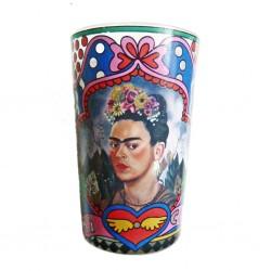 En mi corazon Frida candle