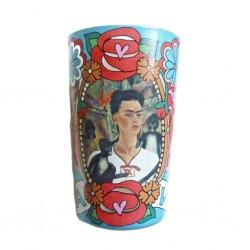 Viva la vida Frida candle