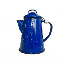 Retro enamel coffee pot