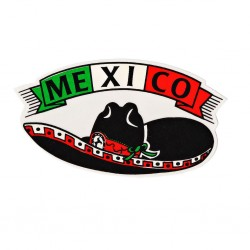 Sticker Mexico sombrero