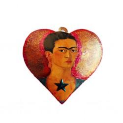 Frida Kahlo Painted heart