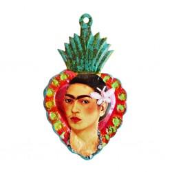 Coeur peint Frida Kahlo